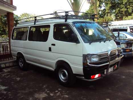 safari vehicle rental charges for Kampala and Uganda