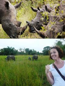 12 Day Peal of Africa - Uganda Safari Visiting the best places - Ziwa rhino sanctuary