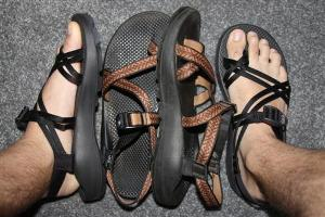 list of clothing for most bildlife and birding Safaris in Uganda - Chacos-walking shoes for safari