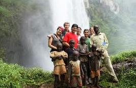 sipi fall safari with local community members near mount elgon national park uganda