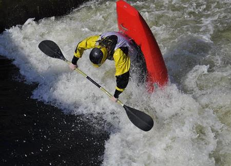 White-water kayaking gorilla add-on in Uganda