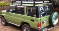 Uganda Big 5 Safari  4-Day Murchison Falls Park Game, Rhinos & Chimpanzee Tracking - Current Car hire/rental discount price list for Uganda